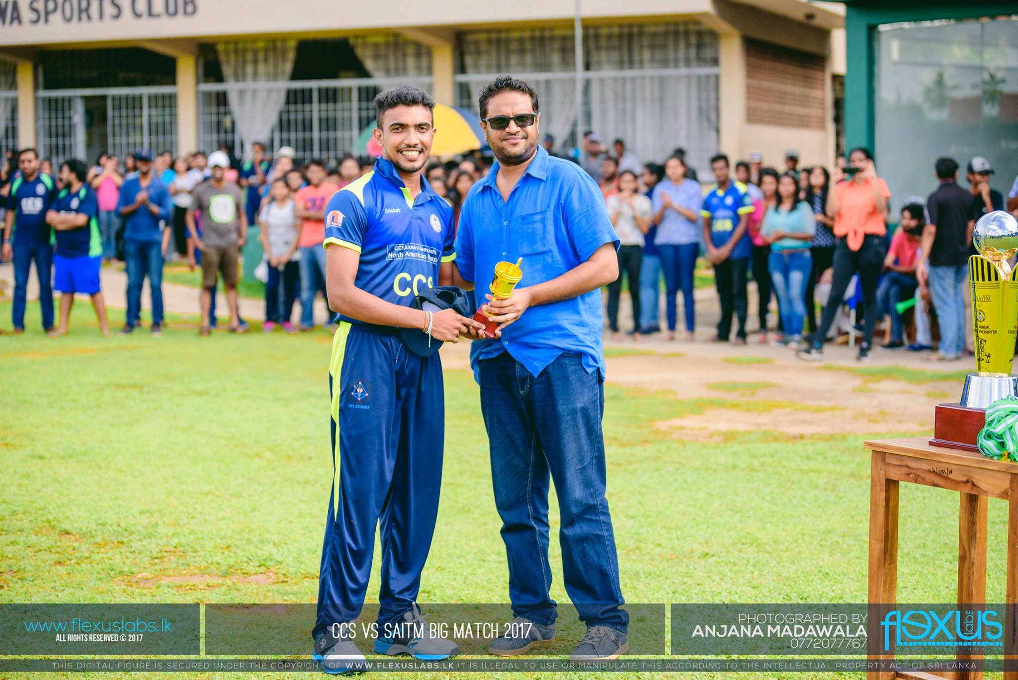 Dr. Amal Wageesha (Immediate Past President) @ CCS vs SAITM Big Match